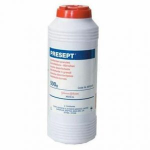 Medical Supplies- Presept disinfectant granules